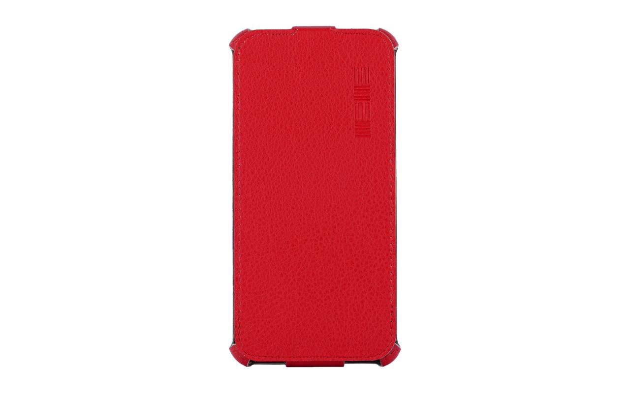 Чехол Флип-Кейс Для Телефона - ASUS ZenFone 3 Max ZC520TL, interstep CRAB красный InterStep