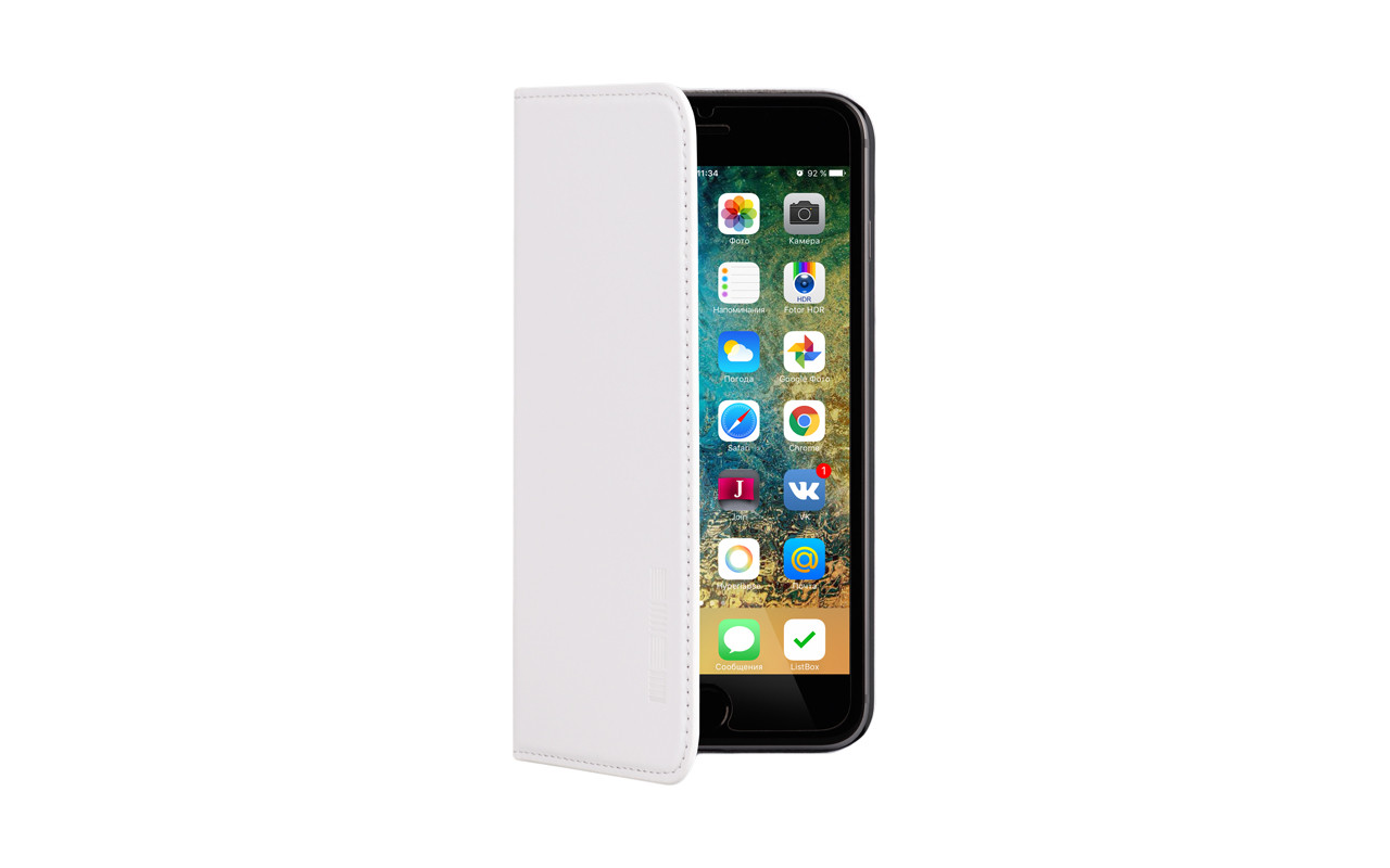 Чехол Книжка Для Телефона - Lenovo Vibe C, interstep VIBE белый