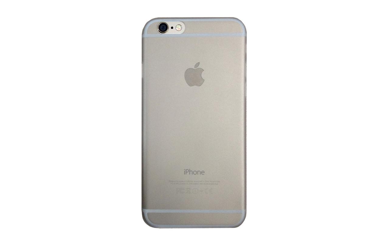 Клип Кейс - Чехол накладка Для Apple iPhone 6, 6S, Серебро, InterStep
