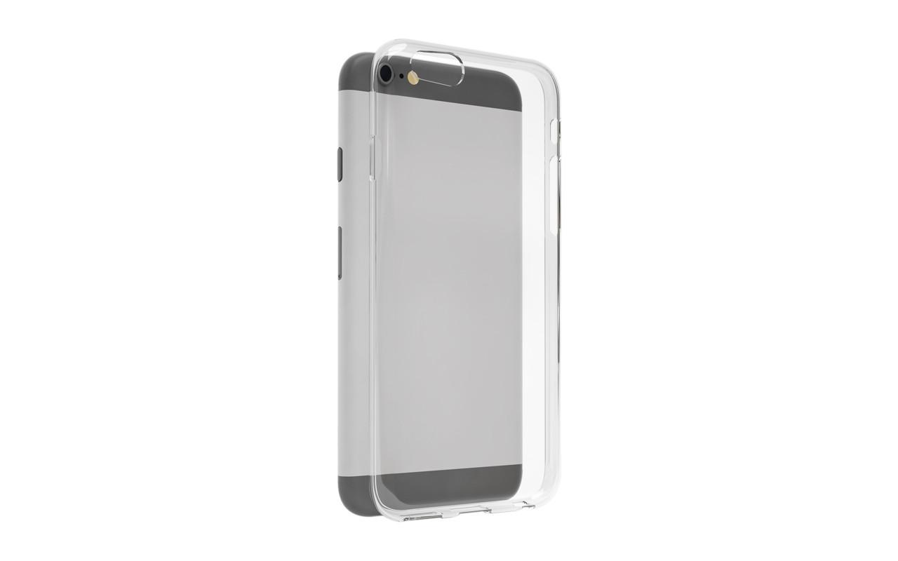 Чехол Накладка Для Телефона - Alcatel POP UP, interstep SLENDER прозрачный