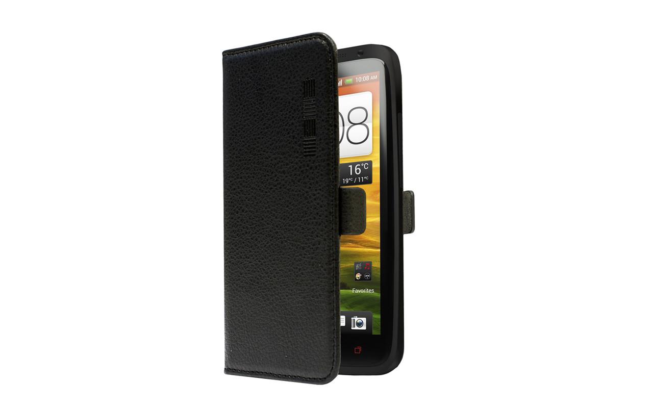 Универсальный Чехол Книжка Для Смартфона с Экраном от 4 до 4,7 дюймов Черный, InterStep NEXT
