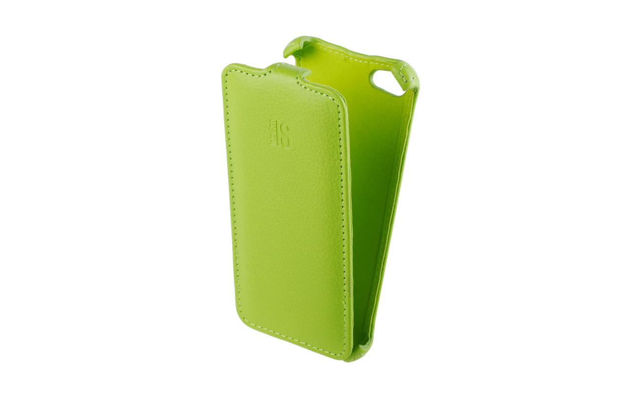 Чехол Флип Кейс Для Apple Iphone 5C, Зеленый InterStep CRAB