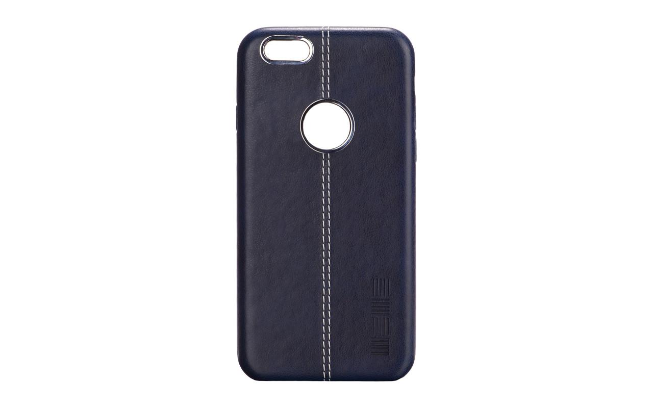 Чехол Накладка Для Телефона - Apple iPhone 6, interstep GOLD синий