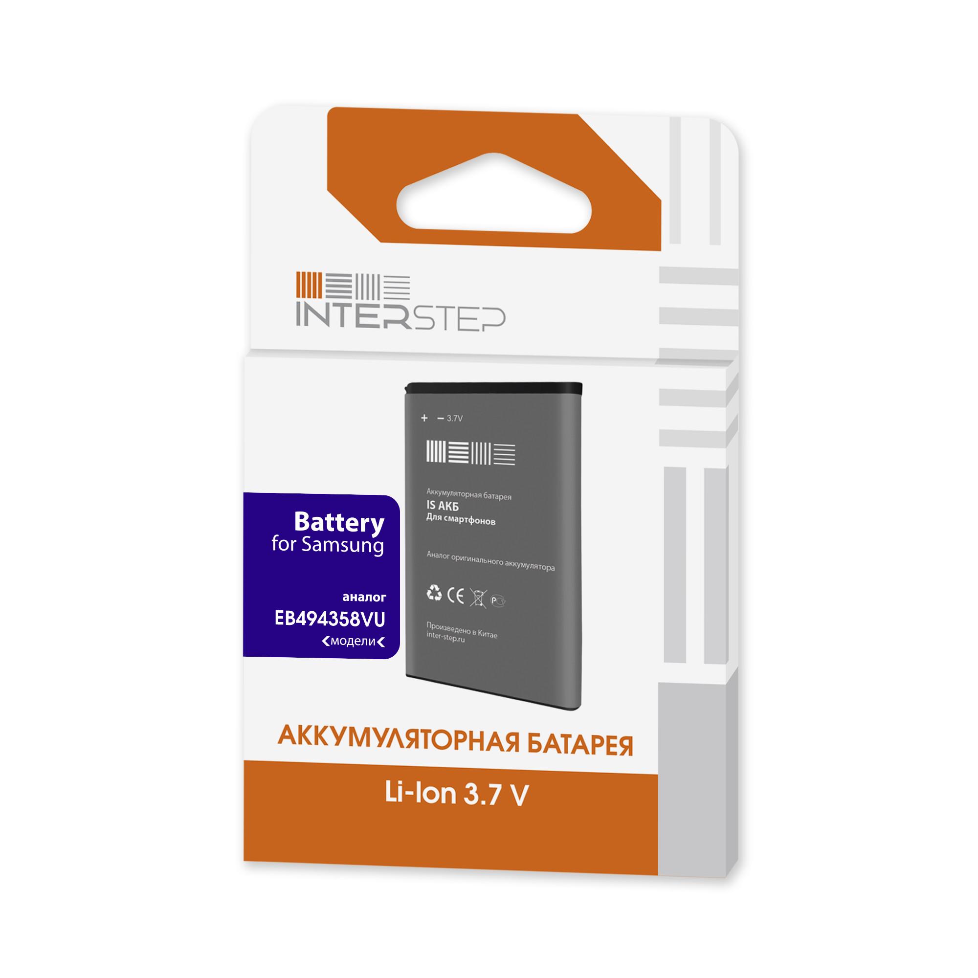 Interstep Аккумулятор Для Телефона Samsung Gt-S5830 / S5660 1350 Мач InterStep